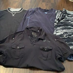 Other - Bundle of man shirts/tops. Size L/XL.